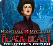 Feature screenshot game Nightfall Mysteries: Black Heart Collector's Edition