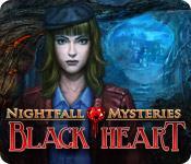 Feature screenshot game Nightfall Mysteries: Black Heart