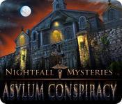 Feature screenshot game Nightfall Mysteries: Asylum Conspiracy