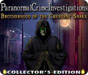 Feature screenshot game Paranormal Crime Investigations: Brotherhood of the Crescent Snake Collector's Edition