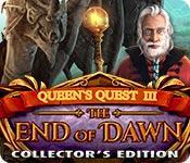 Функция скриншота игры Королевы задание III: конец сборника Доун издание