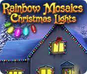 Функция скриншота игры Радужная Мозаика: Рождественские Огни