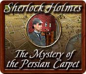 Feature screenshot game Sherlock Holmes: The Mystery of the Persian Carpet