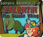 Функция скриншота игры Пасьянс приключения Валентина доблестный Викинг
