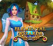 Feature screenshot game Solitaire: Elemental Wizards