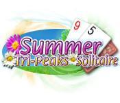 Функция скриншота игры Летом Tri Пиков Пасьянс
