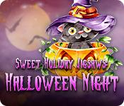 Har screenshot spil Sweet Holiday Jigsaws: Halloween Night