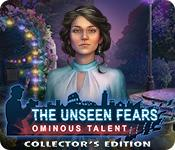 Функция скриншота игры Невидимые страхи: зловещий талант коллекционное издание
