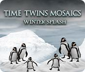 Función de captura de pantalla del juego Time Twins Mosaics: Winter Splash
