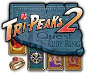 Feature screenshot game Tri-Peaks 2: Quest for the Ruby Ring