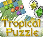 Feature screenshot game Tropical Puzzle