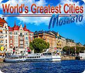 Функция скриншота игры World's Greatest Cities Mosaics 10