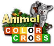 Función de captura de pantalla del juego Animal Color Cross