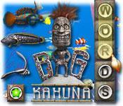 Función de captura de pantalla del juego Big Kahuna Words