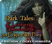 Función de captura de pantalla del juego Dark Tales: El entierro prematuro por Edgar Allan Poe Edición Coleccionista