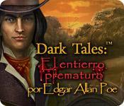 Función de captura de pantalla del juego Dark Tales: El entierro prematuro por Edgar Allan Poe