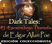 Función de captura de pantalla del juego Dark Tales: El Escarabajo Dorado de Edgar Allan Poe Edición Coleccionista