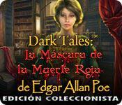 Función de captura de pantalla del juego Dark Tales: La Máscara de la Muerte Roja de Edgar Allan Poe Edición Coleccionista