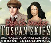 Función de captura de pantalla del juego Death Under Tuscan Skies: Una novela de Dana Knightstone Edición Coleccionista