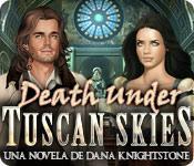 Función de captura de pantalla del juego Death Under Tuscan Skies: Una novela de Dana Knightstone