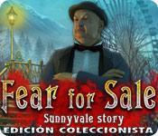 Función de captura de pantalla del juego Fear for Sale: Sunnyvale Story Edición Coleccionista