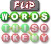 Función de captura de pantalla del juego Flip Words