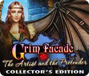 Función de captura de pantalla del juego Grim Facade: The Artist and The Pretender Collector's Edition