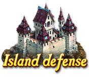 Función de captura de pantalla del juego Island Defense
