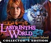 Función de captura de pantalla del juego Labyrinths of the World: Secrets of Easter Island Collector's Edition