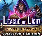 Función de captura de pantalla del juego League of Light: Wicked Harvest Collector's Edition