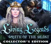 Función de captura de pantalla del juego Living Legends - Wrath of the Beast Collector's Edition