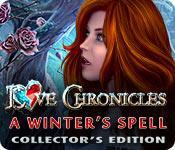 Función de captura de pantalla del juego Love Chronicles: A Winter's Spell Collector's Edition