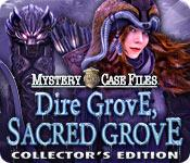 Función de captura de pantalla del juego Mystery Case Files: Dire Grove, Sacred Grove Collector's Edition