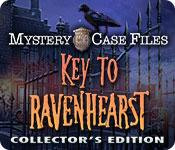 Función de captura de pantalla del juego Mystery Case Files: Key to Ravenhearst Collector's Edition