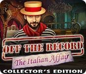 Función de captura de pantalla del juego Off the Record: The Italian Affair Collector's Edition
