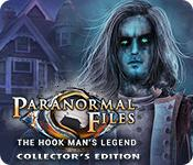 Función de captura de pantalla del juego Paranormal Files: The Hook Man's Legend Collector's Edition