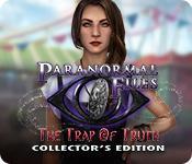 Función de captura de pantalla del juego Paranormal Files: The Trap of Truth Collector's Edition