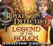 Función de captura de pantalla del juego Royal Detective: Legend Of The Golem Collector's Edition