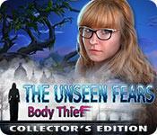Función de captura de pantalla del juego The Unseen Fears: Body Thief Collector's Edition