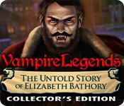 Función de captura de pantalla del juego Vampire Legends: The Untold Story of Elizabeth Bathory Collector's Edition