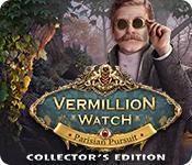 Función de captura de pantalla del juego Vermillion Watch: Parisian Pursuit Collector's Edition