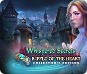 Función de captura de pantalla del juego Whispered Secrets: Ripple of the Heart Collector's Edition