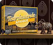 La fonctionnalité de capture d'écran de jeu 1001 Puzzles Tour du monde Afrique