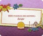 La fonctionnalité de capture d'écran de jeu 1001 Puzzles du Monde: Europe