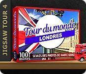 La fonctionnalité de capture d'écran de jeu 1001 Puzzles Tour du monde Londres