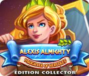 Feature screenshot game Alexis Almighty: Daughter of Hercules Édition Collector