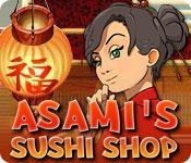 La fonctionnalité de capture d'écran de jeu Asami's Sushi Shop