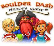 La fonctionnalité de capture d'écran de jeu Boulder Dash: Pirate's Quest
