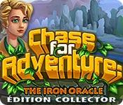 La fonctionnalité de capture d'écran de jeu Chase for Adventure 2: The Iron Oracle Édition Collector