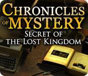 La fonctionnalité de capture d'écran de jeu Chronicles of Mystery: Secret of the Lost Kingdom